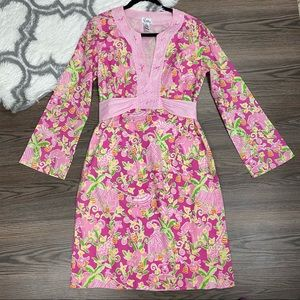 Vintage Lilly Pulitzer Pink Dress Size Medium